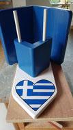 Pindakaas pot houder Grieks stijl_1