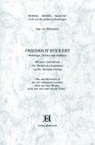 Friedrich Rückert - Weltbürger, Dichter und Gelehrter - Verlag Heilbronn, der Sufiverlag