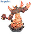 World of Warcraft, Ragnaros Statue, Collector's Edition, Repaint