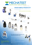 Mechatest Grab Sampling Products for Hydrocarbons Steam & Water