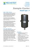 Herpi Steam Sample Cooler by Mechatest