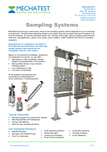 Mechatest Liquid & Gas Sampling Systems
