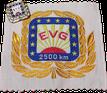 Kilometer-Abzeichen 2500 EVG