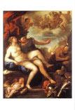 ウルカヌスに捕えられたマルスとヴィーナス