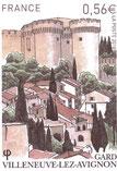 Timbre sur Villeneuve lez Avignon