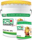Vehículo a base de resina epoxi catalizada con poliamida, pigmentos resistentes a la corrosión y solventes.