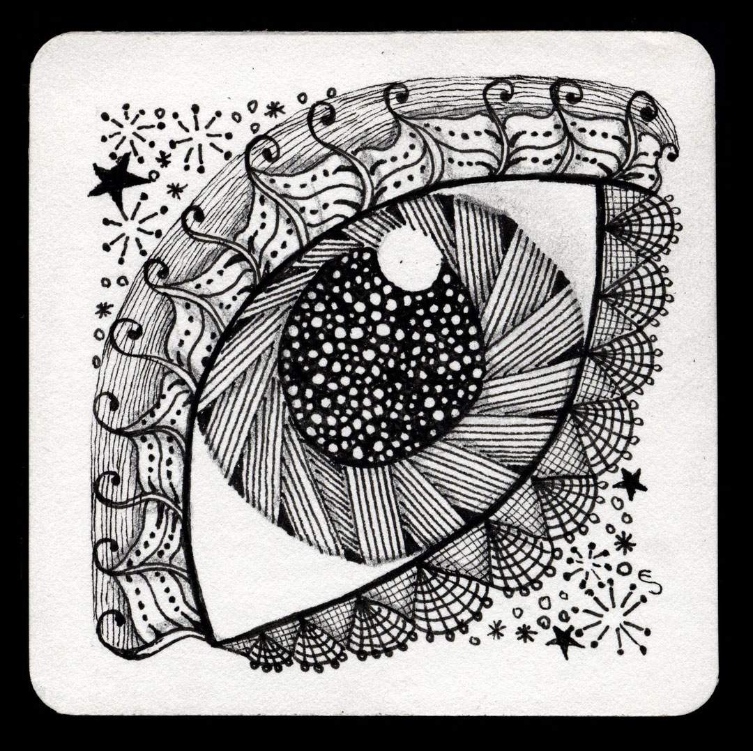 Картинки винни-пуха, открытка в технике зентангл