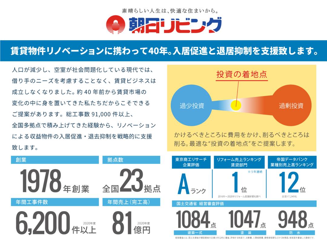 株式会社朝日リビングご紹介スライド1