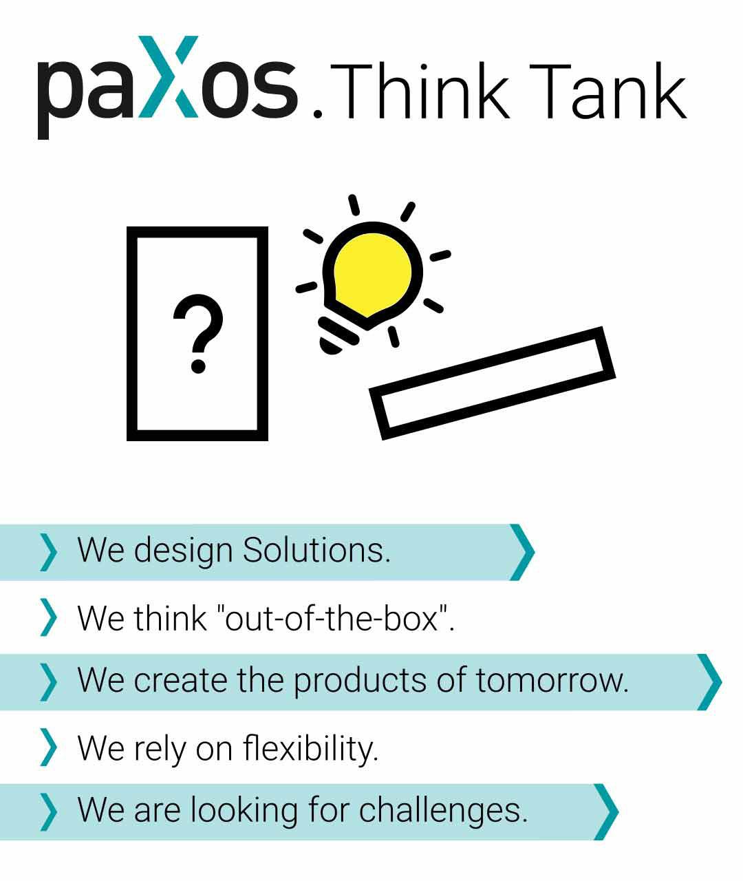 paXos as Think Tank