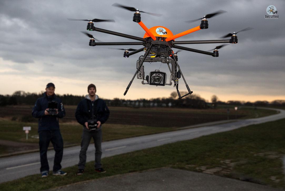 Get Lifted Drohne im Einsatz
