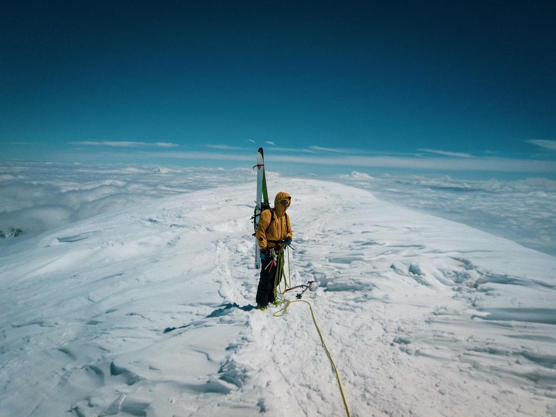 Gipfel Mont Blanc Foto David