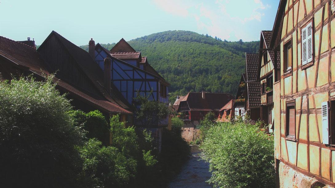 kaysersberg alsace village france maisons bigousteppes