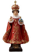Infant of Prague statue cm. 40