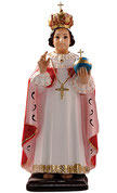 Infant of Prague statue cm. 45
