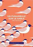 Couverture un funambule sur le sable Chronique littéraire roman onirique absurde handicap amour musique guillaume cherel