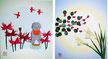 講習作品(予定)藤の花(四季折々「バラのプチブーケ」も本講座内で受講可)
