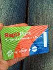 Metrokarte für 2US$