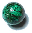 chrysocolla bead gemstone