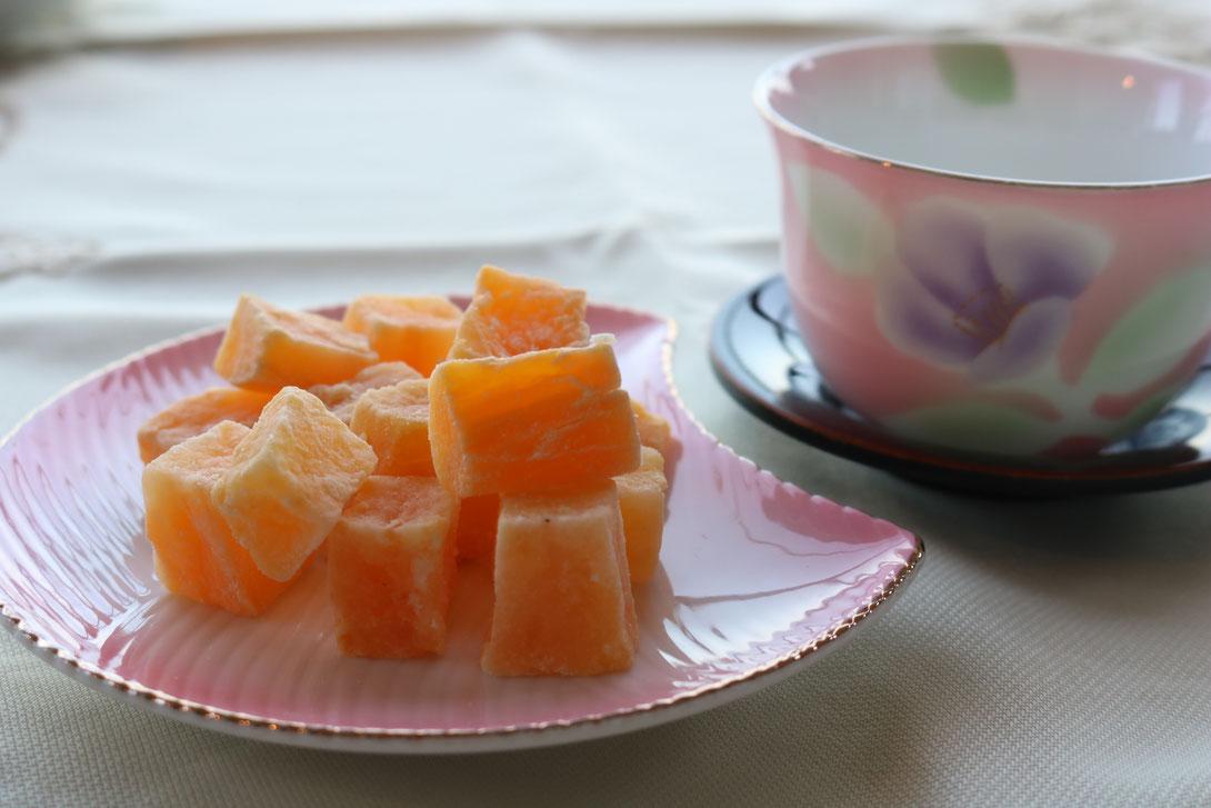 種子島産安納芋を使用した甘納豆,国産,無漂白,無着色