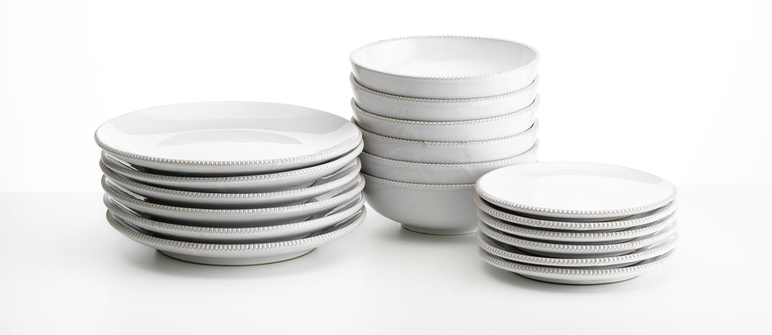 Plate set (46,- to 160,- EUR)