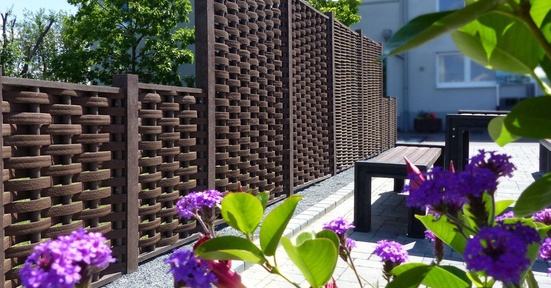 Cercados y ocultación para jardines en Tenerife