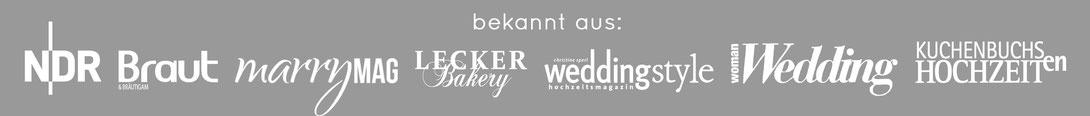 Brautmagazin NDR marryMAG LeckerBakery weddingstyle Hochzeitsmagazine bei dem die Hochzeitsfiguren abgebildet und vorgestellt wurden