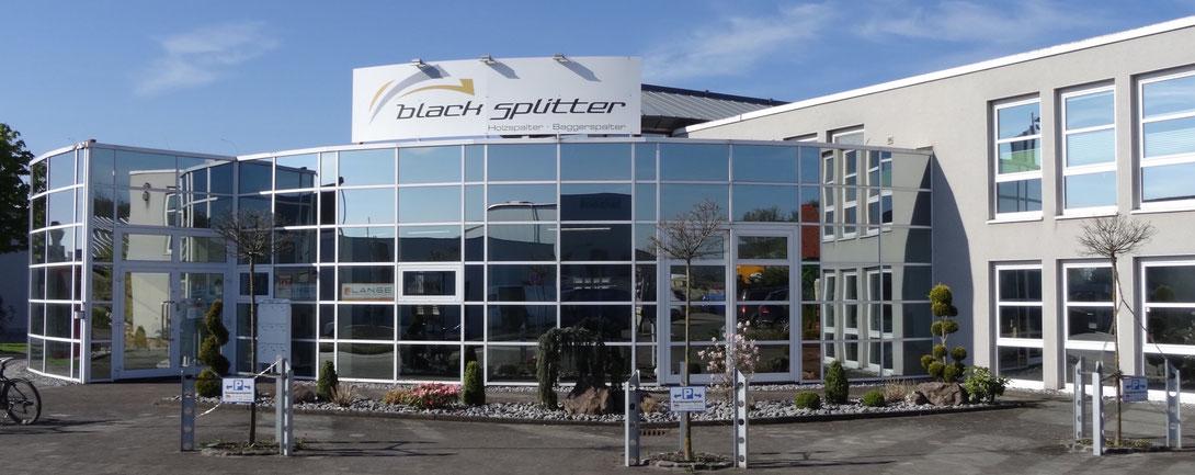Black Splitter Niederlassung Korbach / Kegelspalter / Holzspalter / Spalter / Holzgreifer / Erdbohrer / Greifer / Baggerzubehör / Bagger