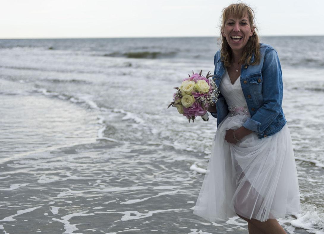 Fotografiert mit Nikon Z6 und Nikkor Z 24-70mm f/2.8.S ... Hochzeit auf Langeoog