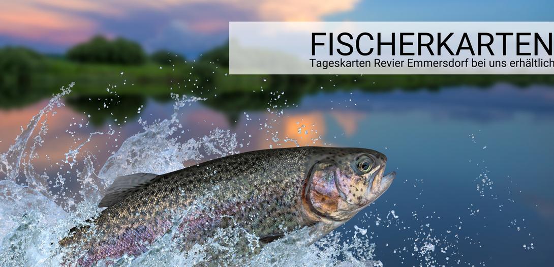 Fischerkarten Badesee Weitenegg und Donau Revier Emmersdorf, Tageskarten Fischen Wirtshaus Gruber Weitenegg