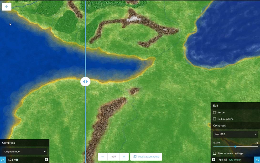 Arda Maps First Age Bild Vorschau