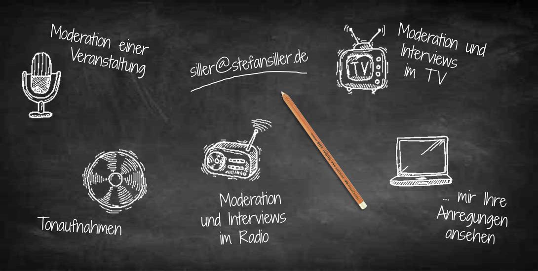 Stefan Siller buchen für Lesungen, Moderation, Interview, Veranstaltungen, TV, Funk, Radio, Tonaufnahmen.