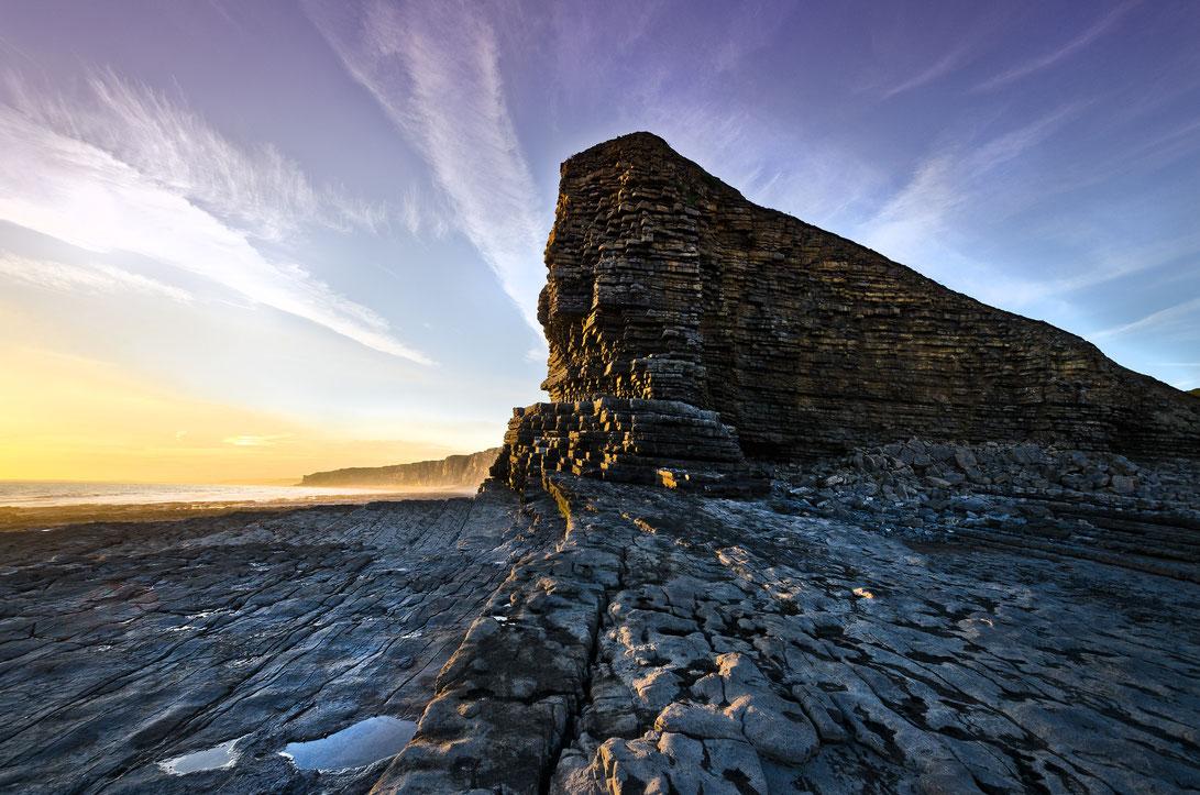 Wales Küste Meer Landschaft Fotografie