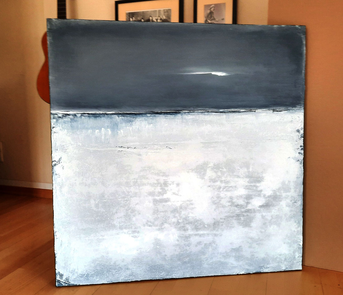 landschaftsbild weiss grau