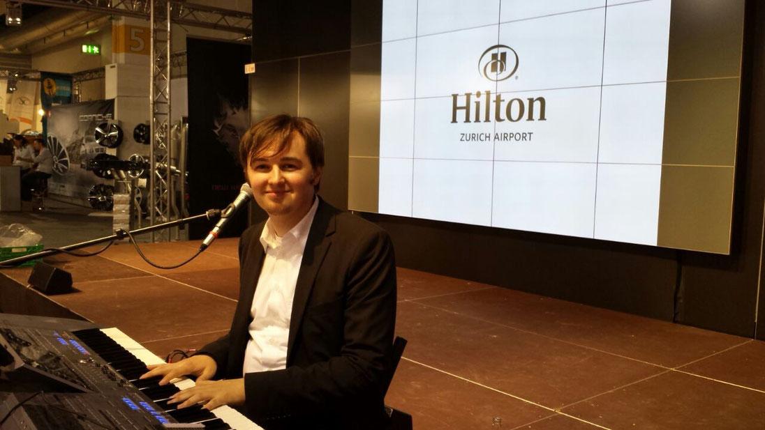 Livemusik und DJ Florian Geibel