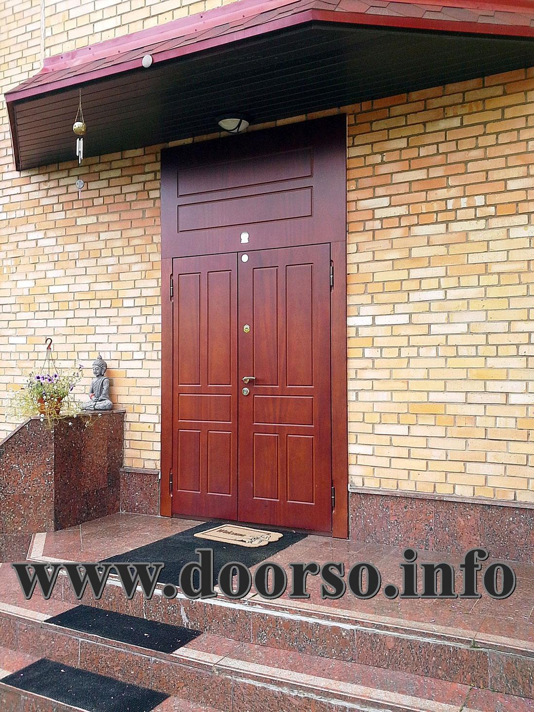 стальная дверь входная можайск