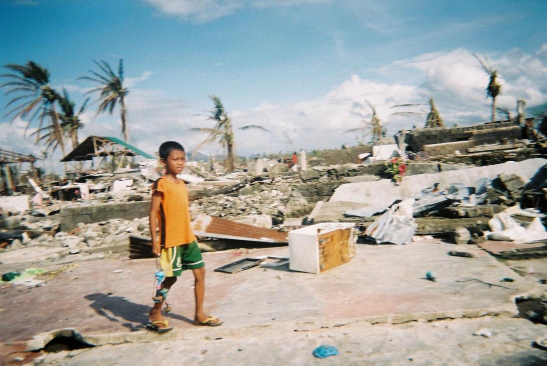 Arjun Obrato, 13, Tacloban