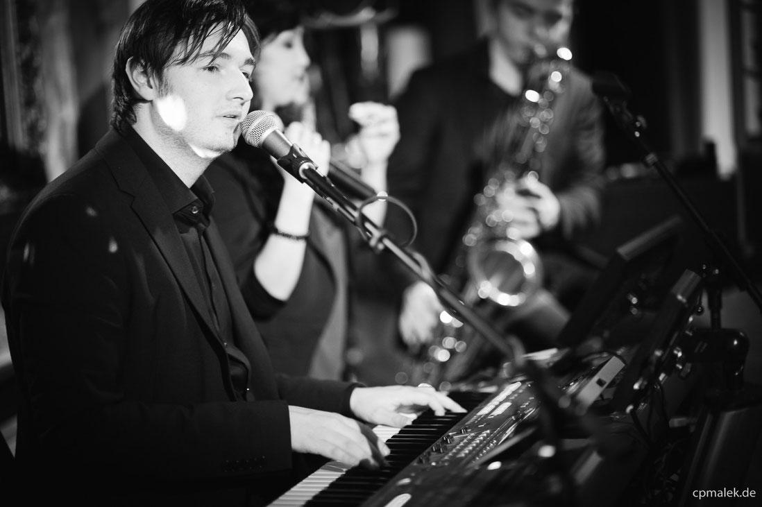 Livemusiker und DJ Florian Geibel