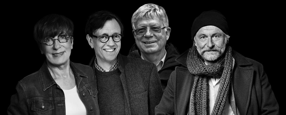 Gisa Pauly Krischan Koch Hannes Nygaard Klaus-Peter Wolf – Hamburger Krimifestival 2018