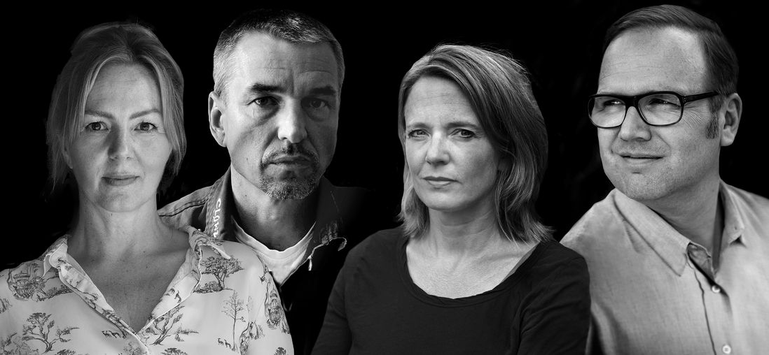 Simone Buchholz Boris Meyn Nora Luttmer Till Raether – Hamburger Krimifestival 2018