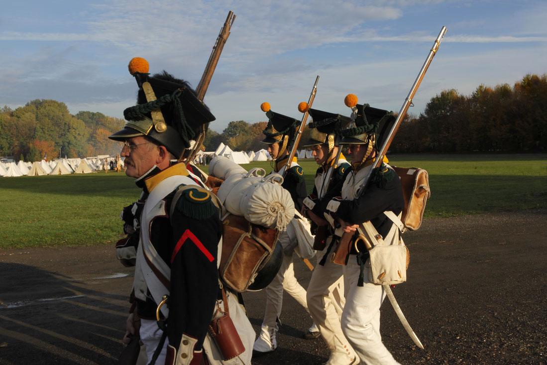 Pułk 4-ty Piechoty Xięstwa Warszawskiego 1813 Infanterist franz, französicher Eichstätter Fotoclub Leipzig 2013 Infanterie Montur Völkerschlacht 1813