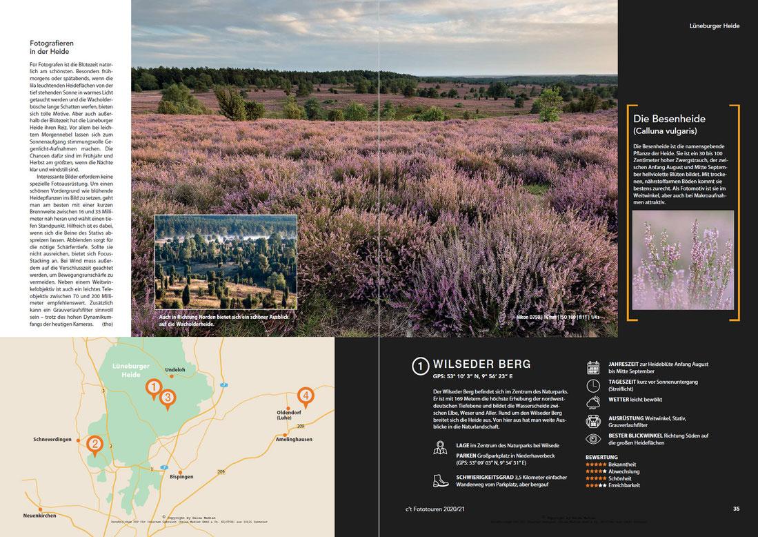 Naturfotografie in der Lüneburger Heide - Wilseder Berg