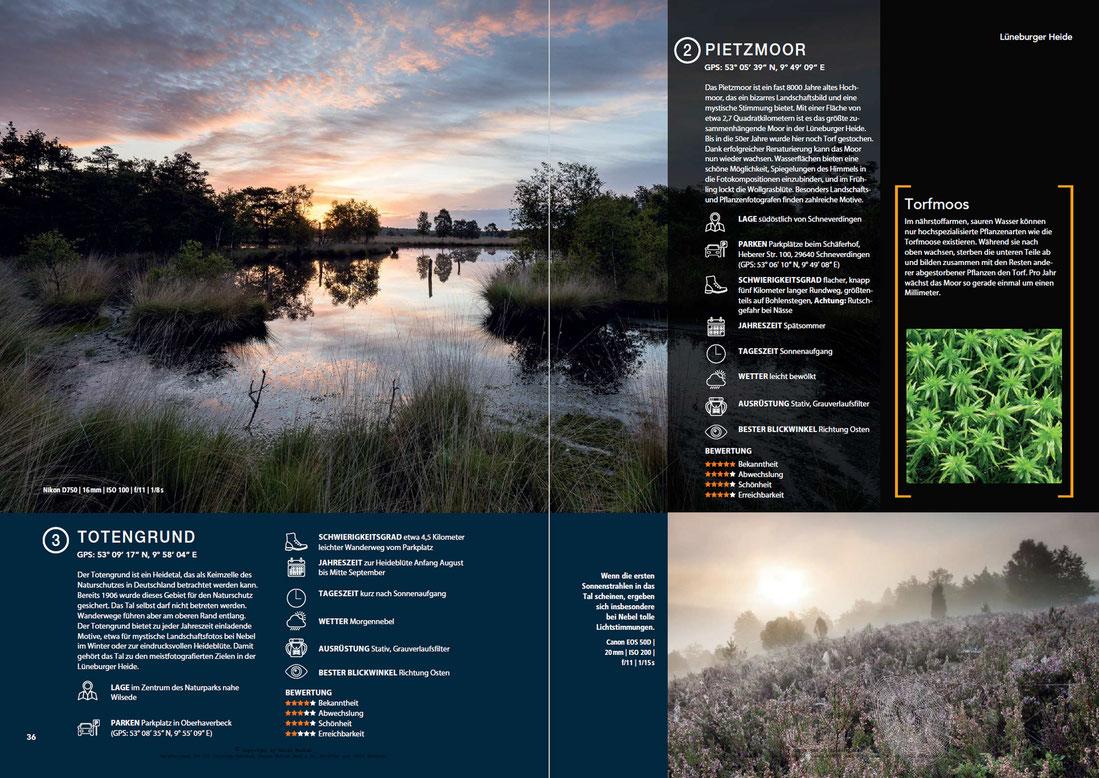 Naturfotografie in der Lüneburger Heide - Pietzmoor und Totengrund