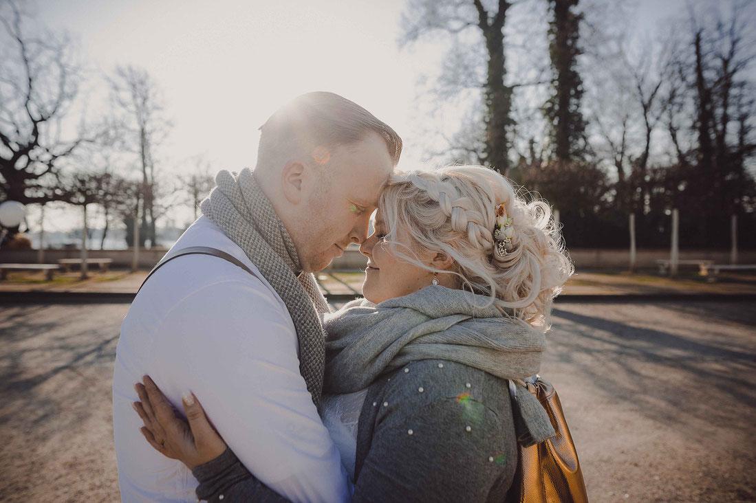Brautpaarshooting im Schlosspark Köpenick