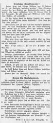 Göttinger Zeitung, 22.12.1918, StA Göttingen