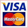Pay in cash or by card VISA / MASTER CARD