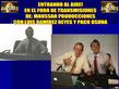 Agradezco la invitación a mi amigo Luis Ramírez Reyes Por invitarme a su programa ET el Mundo de Luis Ramírez Reyes en: www.tercermilenio.tv Donde compartimos experiencias extraterrestres