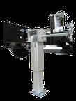 Hubmatic Komfort Stütze für einen sicheren Stand des Wohnmobil, Reisemobil und Kastenwagen.
