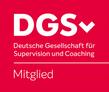 Mitglied der Deutschen Gesellschaft für Supervision. Berufs- und Fachverband für qualifizierte Beratung, Supervision und Coaching.
