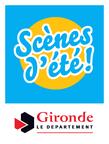 Logo Scènes d'été de la Gironde