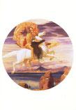 ペガソスに乗ってアンドロメダの救出に向かうペルセウス